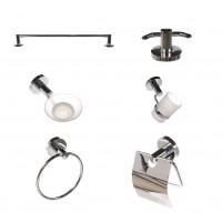 Set accesorii pentru baie, Kadda Myra 1500, cromat, 6 piese