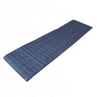 Saltea pliabila Bedora, pentru plaja, textil, albastru, 50 x 175 cm