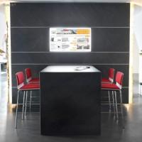 Panel ardezie flexibila Black Line, interior / exterior, 122 x 61 cm