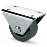 Rotila pentru mobila, cauciuc gri, diametru 40 mm