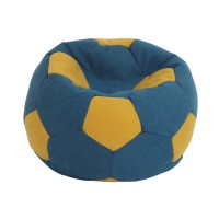 Fotoliu minge de fotbal, Baby Ball, stofa, diverse culori