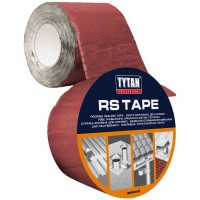 Banda bituminoasa autoadeziva, pentru hidroizolatie acoperis, caramiziu, Tytan Professional, 10 m x 100 mm