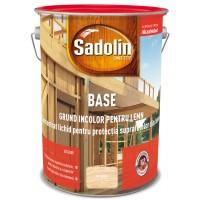 Grund pentru lemn Sadolin Base, incolor, 5 L