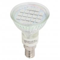 Bec LED Hepol spot R50 E14 3W lumina rosie