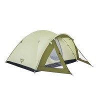 Cort camping 4 persoane, Bestway Rock Mount 68014, poliester, 240 x 210 x 130 cm