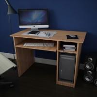 Birou calculator Dan, stejar bardolino, 100 x 77 x 55 cm, 2C