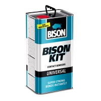 Adeziv de contact universal, Bison Kit, alb/crem, 4.5 L