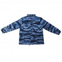 Bluza salopeta Bangsonic, poliester + bumbac, camuflaj albastru, marimea 56