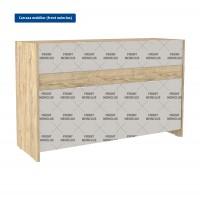 Carcasa pentru comoda dormitor Verona, sherwood, 120 x 75 x 41 cm, 2C