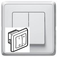 Variator de tensiune profesional + intrerupator Legrand Cariva 773815, alb, 600W, rama inclusa