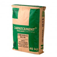 Ciment Carpatcement CEM II/A 42.5R sac 40 kg
