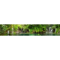Panou decorativ bucatarie Splashback, compozit, luminescent, SPB 073, peisaj, 4000 x 600 x 5 mm