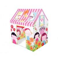 Casuta copii, Intex Friendship Play 48621NP, din plastic, interior / exterior, 112 x 84 x 132 cm