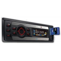 Radio MP3 player auto Carguard 164, 4 x 40 W, 1 DIN, USB, SD / MMC, telecomanda
