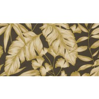 Tapet fibra textila, model frunze, Grandeco Aurora CE3206, 10 x 0.53 m