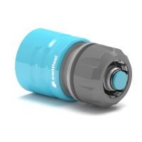 Conector furtun Cell Fast  50-620, cu Aquastop, plastic, 1/2 inch