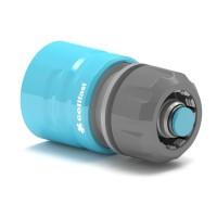 Conector furtun Cell Fast  50-625, cu Aquastop, plastic, 3/4 inch