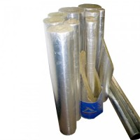 Cochilii din vata minerala cu aluminiu, D 168 x 30 mm