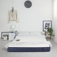 Saltea pat Bedora Polar Jeans, 1 persoana, cu spuma poliuretanica + memory si cocos, fara arcuri, 120 x 200 cm