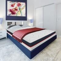 Saltea pat Bedora Dual Confort, superortopedica, cu spuma Green Form + spuma Greem Therm Memory, fara arcuri, 160 x 200 cm