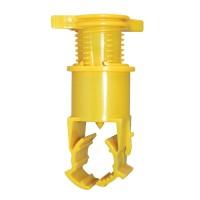 Colier ABS rapid cu filet interior, pentru teava LDPE, conectare aspersor, 25 x 19 mm