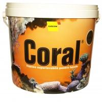 Vopsea superlavabila exterior, Coral, alba, 2.5 L