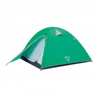 Cort camping 2 persoane Bestway Pavilo glacier ridge 68009, poliester, (200 + 70) x 200 x 120 cm