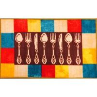 Covoras bucatarie Davo Pro Dish nylon dreptunghiular multicolor 50 x 80 cm