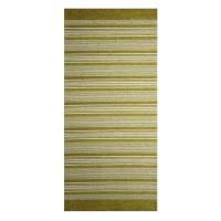 Traversa bucatarie Oriental Weavers Laos 129 poliester chenille + viscoza dreptunghiulara verde 75 x 160 cm
