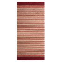 Traversa bucatarie Oriental Weavers Laos 28 poliester chenille + viscoza dreptunghiulara roz 75 x 160 cm