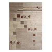 Covor living / dormitor Carpeta Delta 36181-43255 PPR polipropilena heat-set dreptunghiular crem 160 x 230 cm