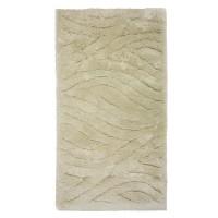Covor living / dormitor Oriental Weavers Snow Shaggy W 623/Y20, polipropilena BCF, dreptunghiular, bej, 80 x 140 cm