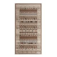 Covor living / dormitor Carpeta Delta 66961-43255 polipropilena heat-set dreptunghiular crem 80 x 150 cm