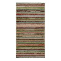 Covor living / dormitor McThree Swing 6251 3P01 polipropilena frize, heat-set dreptunghiular multicolor 80 x 150 cm