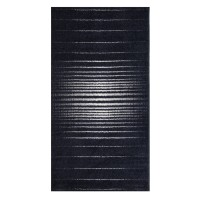 Covor living / dormitor McThree Casino 8524 K981 polipropilena frize dreptunghiular albastru 200 x 290 cm