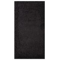 Covor living / dormitor Carpeta Viva 10391-32300 polipropilena frize dreptunghiular gri antracit 70 x 140 cm