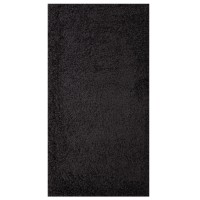 Covor living / dormitor Carpeta Viva 10391-32300 polipropilena frize dreptunghiular gri antracit 90 x 250 cm