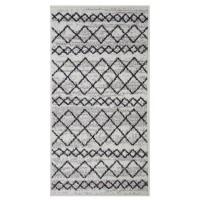 Covor living / dormitor Oriental Weavers Lotto W 86/HR5 polipropilena frize dreptunghiular crem 80 x 140 cm