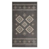 Covor living / dormitor Oriental Weavers Norway E 5960/EM1 polipropilena BCF dreptunghiular gri 100 x 150 cm