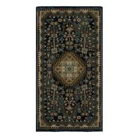 Covor living / dormitor Carpeta Atlas 86971-41611 polipropilena heat-set dreptunghiular bleumarin 80 x 150 cm