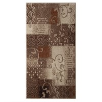 Covor living / dormitor Carpeta Delta 87031-43255 polipropilena heat-set dreptunghiular bej 80 x 150 cm