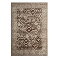 Covor living / dormitor Carpeta Delta 87051-43255 polipropilena heat-set dreptunghiular bej 60 x 110 cm