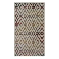 Covor living / dormitor Oriental Weavers Ferrera X 1723/LE9 polipropilena heat-set dreptunghiular multicolor 80 x 140 cm