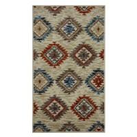 Covor living / dormitor Oriental Weavers Nevada W 530/DW6 polipropilena frize multicolor 60 x 120 cm