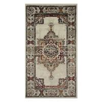 Covor living / dormitor Oriental Weavers Satchi W 1331/GB4 polipropilena heat-set dreptunghiular bej 120 x 170 cm