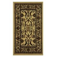 Covor living / dormitor Oriental Weavers Pronto W 33/X88 polipropilena dreptunghiular crem 133 x 190 cm