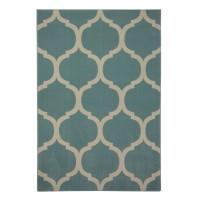 Covor living / dormitor Canvas 18218-631 polipropilena soft albastru turcoaz 160 x 230 cm