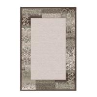 Covor living / dormitor Carpeta Delta 61801-43231 polipropilena heat-set dreptunghiular maro 80 x 150 cm