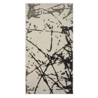 Covor living / dormitor Sintelon Motion 26WOW polipropilena heat-set dreptunghiular gri 120 x 170 cm