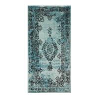 Covor living / dormitor Vintage 22206-044 polipropilena albastru 80 x 150 cm
